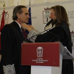 Alonso toma posesión como decano del Colegio de Abogados de Madrid ante la presencia de Estévez, Catalá y Cifuentes