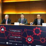 Catalá, Estévez y López Chocarro inauguraron el Primer Congreso sobre Economía y Justicia en Barcelona