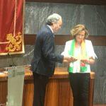 El presidente del Consejo General de Procuradores de España participa en los VIII Premios Calidad de la Justicia