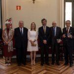 Los padres de la Constitución premiados por el Consejo General de Procuradores de España