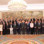 El Rey recibió en audiencia al Pleno del Consejo General de Procuradores de España
