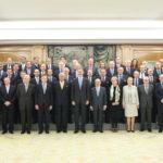 Su Majestad el Rey recibe en audiencia al comité organizador del «World Law Congress of the World Jurist Association»