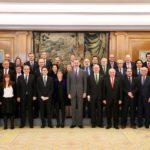 Su Majestad el Rey recibió en audiencia a los presidentes de las Corporaciones Colegiales de Unión Profesional