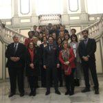Los procuradores presentes y protagonistas  en la constitución formal del Foro para la Mediación del Ministerio de Justicia