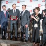 Victoria Ortega y Manuel Marchena premiados en la fiesta de la Procura