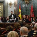 El Presidente de los Procuradores, Juan Carlos Estévez asiste a la apertura del Año Judicial