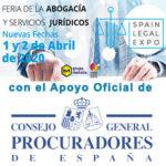 EL Consejo General de Procuradores de España se suma al tren de la Spain Legal Expo, que va a toda máquina