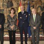 El Presidente de los Procuradores asiste a la toma de posesión de los secretarios de Gobierno de los TSJ de Murcia y Navarra