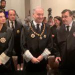 Juan Carlos Estévez asiste a la apertura del Año Judicial en la Comunidad de Madrid
