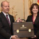 Juan Carlos Campo toma posesión de su cargo como ministro de Justicia