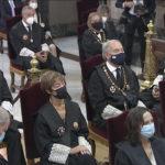 El presidente del CGPE, Juan Carlos Estévez asiste a la apertura del Año Judicial 2020