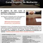 Atención Procuradores: Ejerce de Mediador Concursal con nuestro curso de Mediación