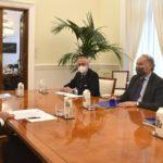 El ministro de Justicia se reúne con el presidente del Consejo General de Procuradores de España, Juan Carlos Estévez