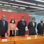 La Comunidad de Madrid y el Consejo General de Procuradores de España firman un convenio que garantiza el pago del turno de oficio para 2021