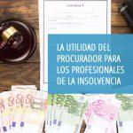 «La utilidad del procurador para los profesionales de la insolvencia» es el nuevo curso del Centro de Estudios del CGPE que se impartirá on line el jueves 1º de julio