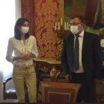 La ministra de Justicia, Pilar Llop, se reúne con el Consejo General de Procuradores de España